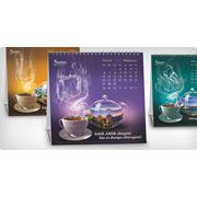 """Дизайн календаря для чая """"АМИР"""" фото"""