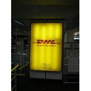 Реклама в аэропорту. фото