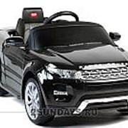 Детский электромобиль Rastar Range Rover Evoque черный фото