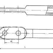 Зажим аппаратный прессуемый А2А-70Г-1 фото