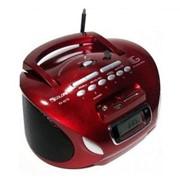 Колонка-радиоприемник бумбокс GOLON RX-627Q со встроенным аккумулятором, цифровым дисплеем, чтение MP3/WAW/WMA файлов с USB флеш накопителя или карты памяти фото