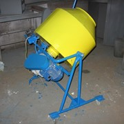 Бетономешалка, бетоносмеситель БС-150 ч/р фото