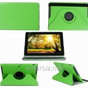 Чехол книжка TTX для Asus MeMO Pad HD10 ME102A Leather case 360 Green (TTX-360ME102AG), код 56085 фото