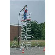 Лестницы-трапы Krause Переход из алюминия угол наклона 45° количество ступеней 10,ширина ступеней 1000 мм 826497 фото