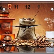 Стеклянные часы с вашим фото фото