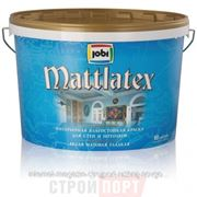 JOBI MattLatex – Латексная матовая влагостойкая краска для стен и потолков фото
