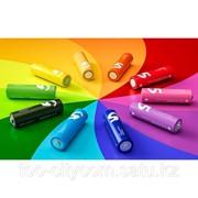 Батарейки Xiaomi Mi Rainbow AA, 10 шт, разноцветные фото