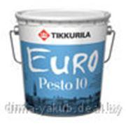 Эмаль ЕВРО Песто 10 (матовая), 9л, TIKKURILA фото