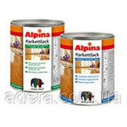 Alpina Альпина Parkettlack 0.75л - Специальный лак для деревянных, цементных полов и искусственного камня 0.75 фото