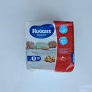 Подгузники Huggies Classic №2 (3-6 кг), 18 шт фото