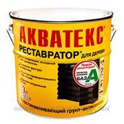 Рогнеда Акватекс Реставратор грунт-антисептик (2.7 л) сосна фото