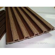 Вагонка из древесно-полимерного композита (ДПК) фото