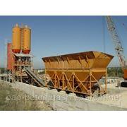 Бетоносмесительная установка (бетонный завод) СБ-145-5-01 производительность БСУ 40 м³/ч фото