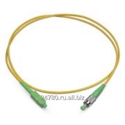 Патч-корд оптический симплексный, FC/APC-SC/APC, SM 9/125, 10 м, LSZH ТД Генерация фото