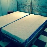 кровать односпальная кованая фото