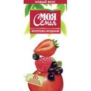 Нектар МОЯ СЕМЬЯ фруктово-ягодный, 2 л фото