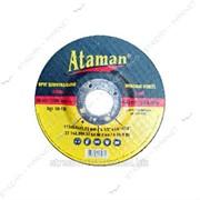 Круг зачистной Ataman (чашка) 115*6, 0*22 (кратно упаковке 10 шт) №307953 фото