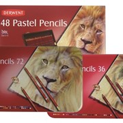 Набор пастельных карандашей, металлическая коробка, Pastel Pencils, Derwent фото