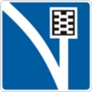 Дорожный знак Полоса движения для аварийной остановки 5.25 ДСТУ 4100-2002 фото