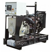 Дизель-генераторная установка (ДГУ) Gesan DPB 25 E открытая с электростартером фото