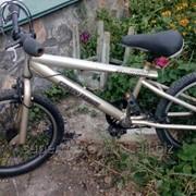 Горный детский велосипед!!! привезён из Европы! состояние идеальное!!! фото
