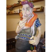 Статуэтка Баба Яга фото