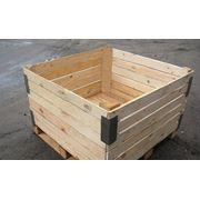 Деревянные контейнеры для хранения и транспортировки плодоовощной продукции фото