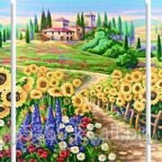 Картина стразами Лето в Тоскане 20*50-2 шт, 40*50 - 1 шт фото