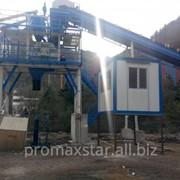 Стационарный бетонный завод PROMAX S60-SNG фото