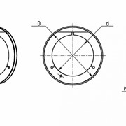 Кольцо уплотняющее тип 1-8 фото