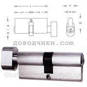 Цилиндр для замка 40х40 (ключ-барашек) фото