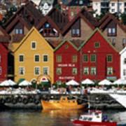 Старый Берген.Увлекательное путешествие в столицу региона фьордов фото
