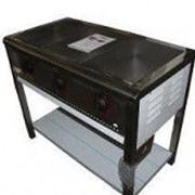 Плита промышленная электрическая ПЕ-3 с эконом конфорками без духовки фото