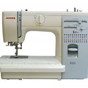 Машины бытовые швейные Швейная машина JANOME 423S (23 строчки, петля автомат, нитевдеватель, регулятор прижима лапки к ткани, регуляторы длины и ширины стежка, жесткий чехол) фото