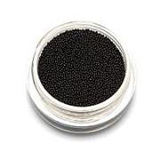 TNL, Бульонки супермелкие, черные, 0,4 мм фото
