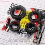 Сальник двигателя к-кт 4шт Honda Dio ZX 15,5*25,5*7-2шт;17*30*5;24*40*7 TMMP фото
