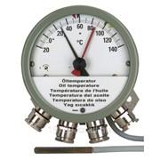 Измерение температуры трансформаторного масла фото