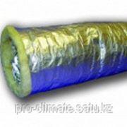 Воздуховоды гибкие теплоизолированные алюминиевые ИЗО А d254х10м фото