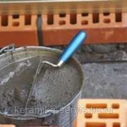 Раствор цементно-песчанный фото