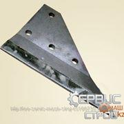 Нож боковой левый 314.23.21.006 Применяемость — ЕК-8, ЕК-12, ЕК-14, ЕК-18, ЕК-20 фото