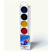"Краска 064267 Алингар AL 4701 ""Букет лилий"" акварельная ( 6 цветов ) карамельная, без кисти, пластиковый box, европодвес ( цена за 1 шт.) фото"
