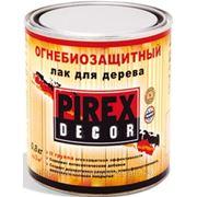 """Огнезащитный лак для дерева и других материалов """"Pirex Decor"""" фото"""