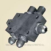 Блок переливных клапанов 520.70.00.000 Применяемость — ЭО-3323, ЕК-8, ЕК-12, ЕК-14, ЕК-18, ЕК-20 фото