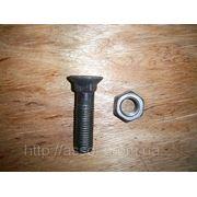 Болт с гайкой крепления ножа бокового (М20 L80) 700-28-2517 фото