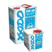 Полусинтетическое легкотекучее моторное масло XADO Atomic Oil 5W-40 SL/CF City Line фото