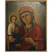 Реставрация икон. Пресвятая Богородица после реставрации. фото