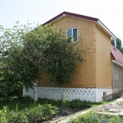 Дома каркасно-щитовые. Экопан. фото