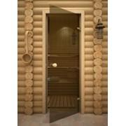 Стеклянные двери для бань и саун АКМА фото