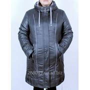 Куртка зимняя комбинированая - ЛОРА (СЕРЫЙ). M-302-Z#13 фото