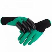 Садовые перчатки с когтями Garden Genie Gloves фото